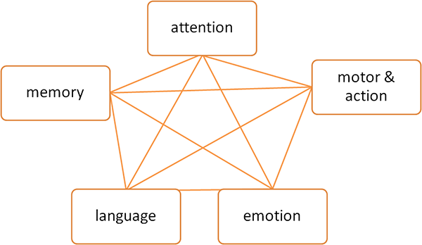 Cognitive Domains Map